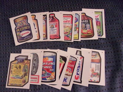 2019 Topps Wacky Packages Mars Attacks Attacky Packages complete set of 15, NEW!