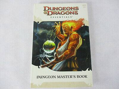 Dungeons & Dragons ESSENTIALS DUNGEON MASTER'S BOOK by WOTC!!