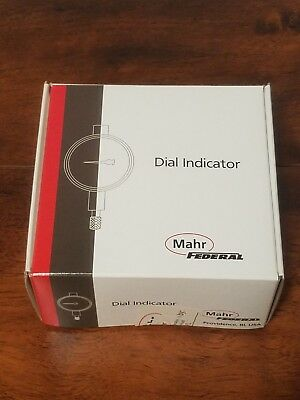 NEW Mahr Federal Dial Drop Indicator .005mm 2015793