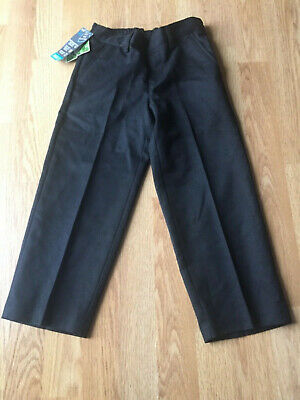 Boys BHS Generous Fit School Trousers ~ Charcoal ~ Age 4 years BNWT