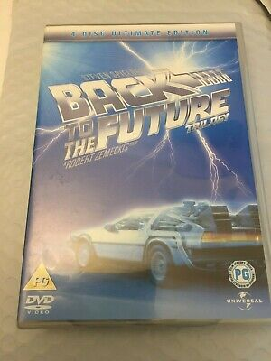 Back To The Future Trilogy [4 Disc Ultimate Edition] [DVD] - DVD