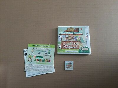 Nintendo Animal Crossing: Happy Home Designer (Nintendo 3DS, 2015)