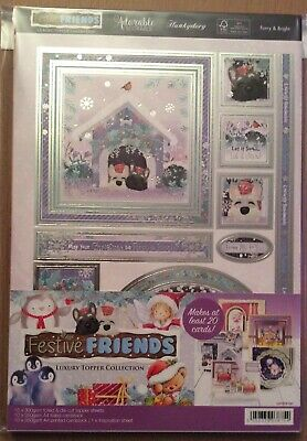 "Hunkydory "" Festive Friends "" Luxury Topper Collection & Inserts Kit"