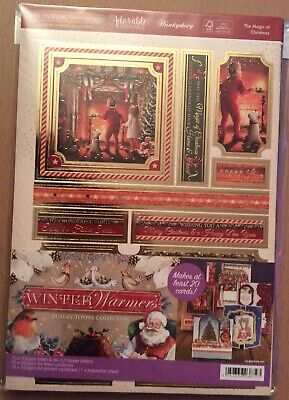 "Hunkydory "" Winter Warmers  "" Luxury Topper Collection & Insert Kit"
