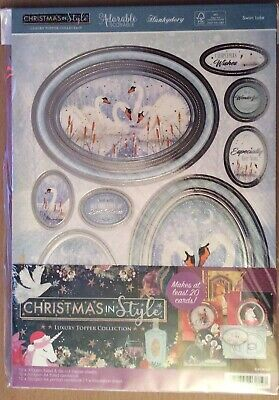 "Hunkydory "" Christmas In Style "" Luxury Topper Collection  & Inserts Kit"