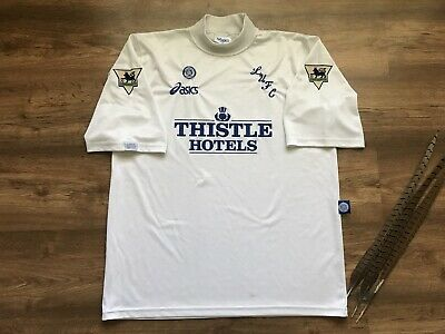 Vintage Leeds United England 1995/1996 Home Football Shirt Soccer Asics Size Xl