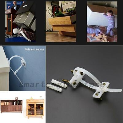 Children Baby Anti-Tip Straps Wall/Furniture Flat Screen Tv Saver Child Safety