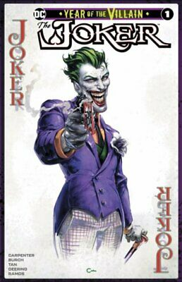 Batman Joker Year Of The Villain Variant Cover Clayton Crain Set Of 2