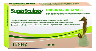 Sculpey Super Sculpturing Compound 1 lb. box, Beige