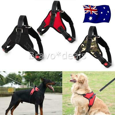Control Large Small Dog Pulling Harness Adjustable Support Comfy Pet Training