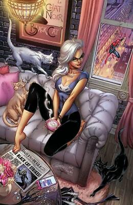 Black Cat #1 J Scott Campbell SDCC 2019 Store Cover G Virgin Variant Comic Con