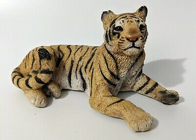 Vintage Living Stone Tiger Collectable Figurine
