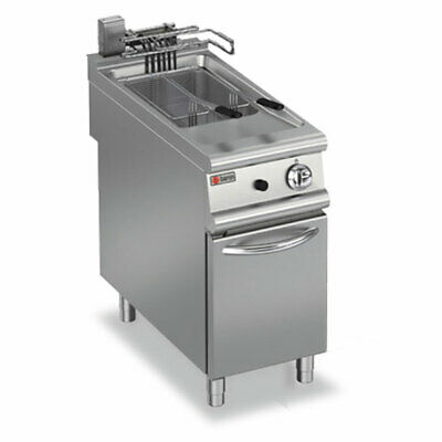Baron 20L Single Pan Electric Deep Fryer Standing Deep Fryers