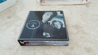 The X-Files Collectible Trading Card Binder Album huge collection season4 5 8 9+