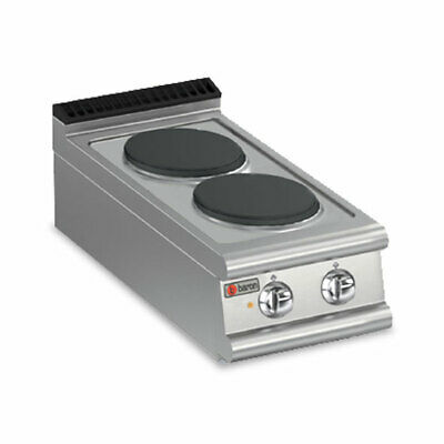 Baron Two Burner Bench Model Electric Cook Top