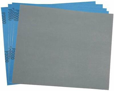 """3000 Grit Dry Wet Sandpaper Sheets 9 x 11"""" Silicon Carbide Sandpaper, Pack of 30"""