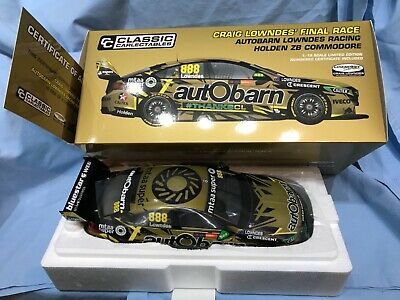 Carlectables 1:18 Holden ZB Commodore 2018 Craig Lowndes Final Race