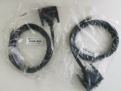 Lot of 2 Cisco Modem Cable DB25 Male to RJ45  - NEW