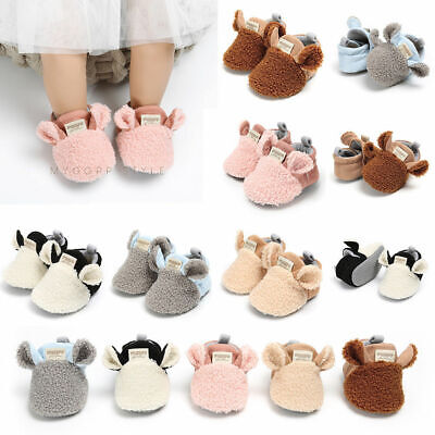 Toddler Girl snow Boots Shoes Newborn Baby Autumn Winter Cotton