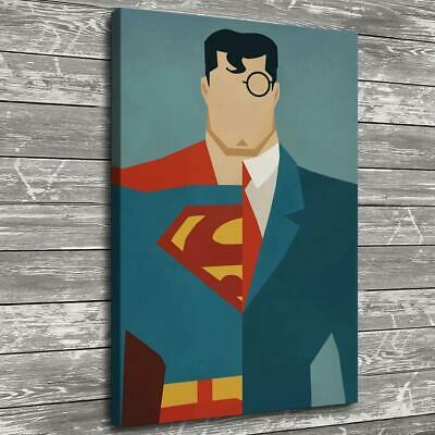 """12""""x18""""Superman Poster HD Canvas prints Painting Home Decor Picture Wall art"""