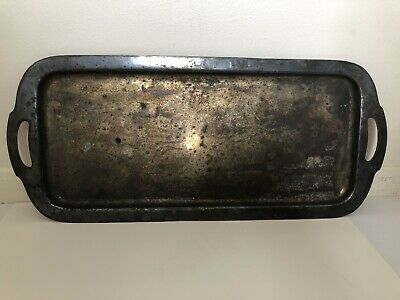 Vintage 1920's Derby S. P. Co. Silver Plate Tray W.M. Mounts