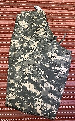 US Military Army ACU Digital Camo Combat Cargo Trousers Pants X-small Xtra Short