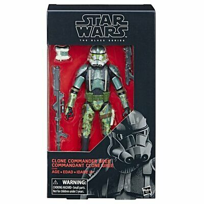 STAR WARS Black Series CLONE COMMANDER GREE 6 inch Action Figure. IN STOCK!