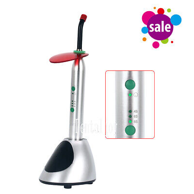Dental Wireless LED Curing Light Lamp Noiseless Cure YS-C 2700mw/c㎡ Cordless