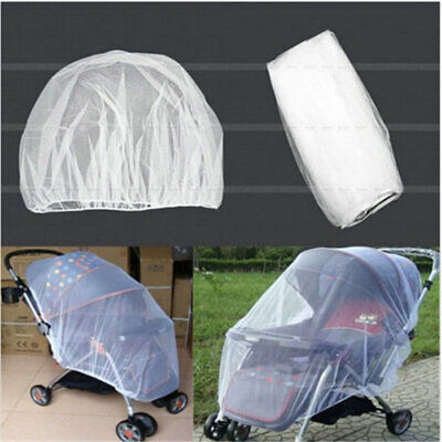 Universal Baby Stroller Mosquito Insect Net Cover May Fit Bassinet Car Seat 2019