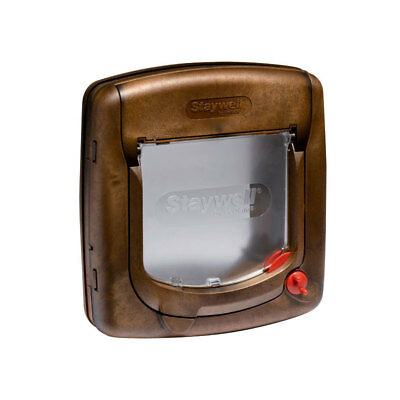 Staywell 320SGIFD - Chatière Manuelle 4 Positions - Bois
