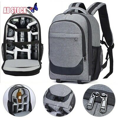 Camera Backpack Large Capacity DSLR SLR Camera Bag For Sony Canon Nikon New