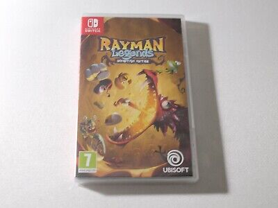 Rayman Legends Definitive Edition Nintendo Switch Neuf Sous Blister