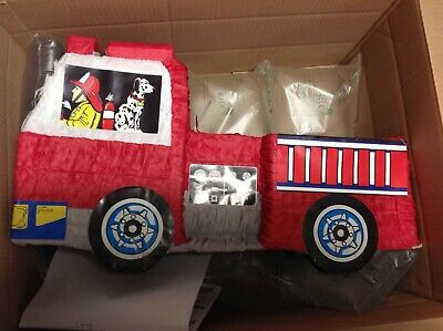 Fire Engine Party Pinata (Party Game)