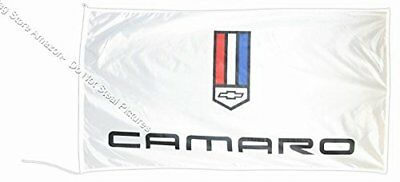 Camaro Chevrolet Weiß Flagge Banner Outback 5 X 3 FT