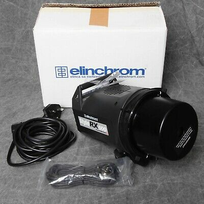 Boxed Elinchrom Style Rx600 Flash Head In Near Mint Condition