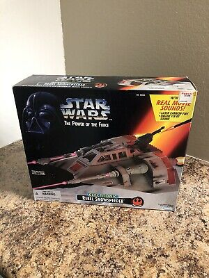 Star Wars Power Of The Force Rebel Electronic Snowspeeder