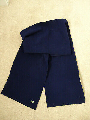 Scarf Mens Navy Lacoste