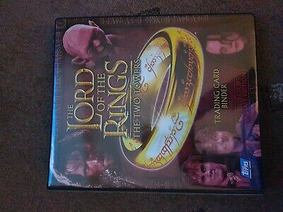 The Lord of the rings The Two Towers Binder with trilogy chrome + masterpieces 2