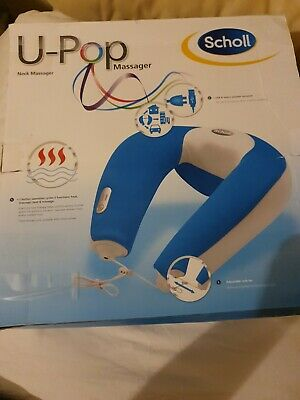 SCHOLL U-POP NECK MASSAGER Mains or USB operated