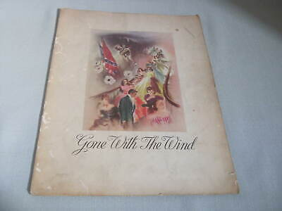 Original Vintage GONE WITH THE WIND, GWTW Theater Program