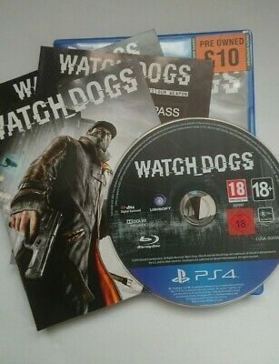 Watchdogs Watch Dogs Ubisoft PS4 Playstation 4 Game Good Condition
