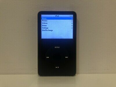 Apple iPod classic 5th Generation 30GB - Black - Good Condition