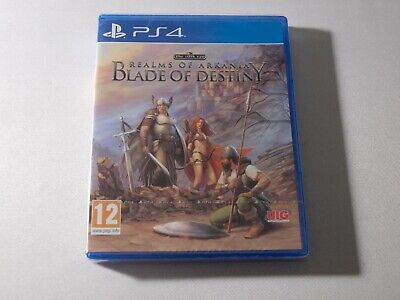 Realms Of Arkania Blade Of Destiny PS4 Neuf Sous Blister