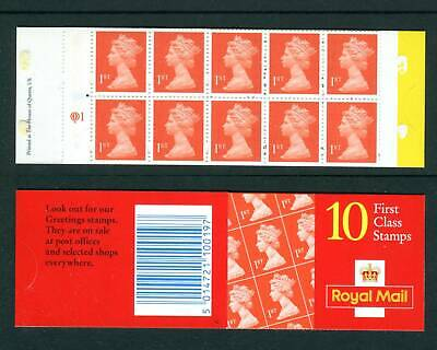 GB 1999 HD51a CYL Q1 FIRST CLASS NO LONGER VALID Questa Cylinder Barcode Booklet
