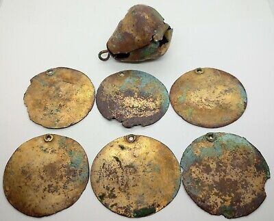 Bronze Gold /Bridle Horse harness / Bell / Decoration / Viking 500-800AD. Rare