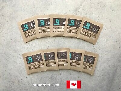 Boveda 62% RH 2-Way Humidity Control Pack (4 gram) x 10 Pack