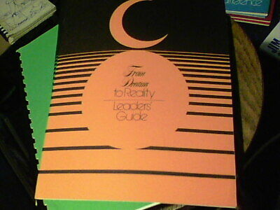 From Dreams To Reality Careers Cadette Girl Scout Book COLLECTOR EUC 1978
