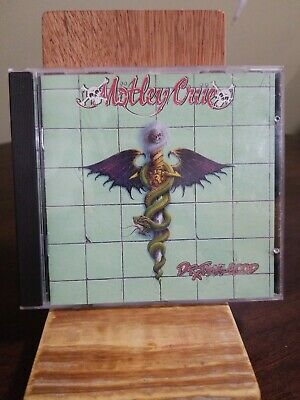 Motley Crue - Dr. Feelgood CD 1989 EARLY 1St PRESS ELEKTRA 960829-2 OOP SRC-01