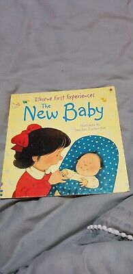 Usborne books First Experiences. The new baby