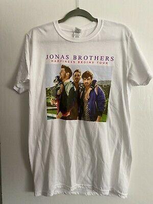 New Jonas Brothers Happiness Begins Tour 2019 Exclusive t-shirt Unisex Medium